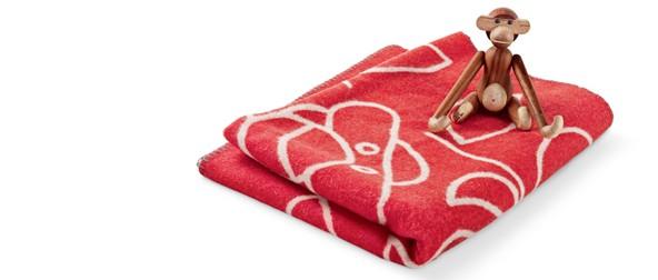 Kay Bojesen Blanket red2080-11003