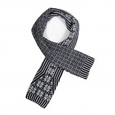    Faroe Lava scarf black | Green Grove Weavers