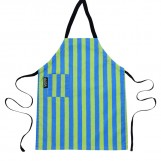 Coated organic cotton kids apron Stripes | Mimi the Sardine