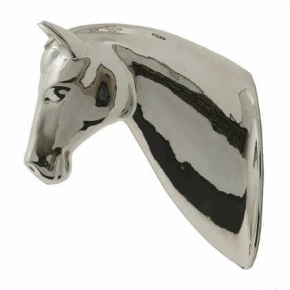 Horse flower pot platina