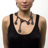 Leather necklace Bone Structures | Campana brothers
