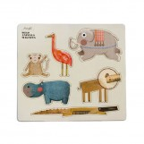 Londji | Wild animals magnets