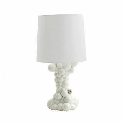 Bubbles lamp white