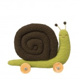 Small Snail on wheels