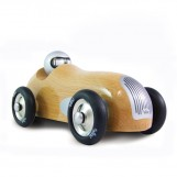 Old wooden Sports Car naturel