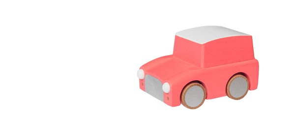 Kuruma wooden car orange1281-5909