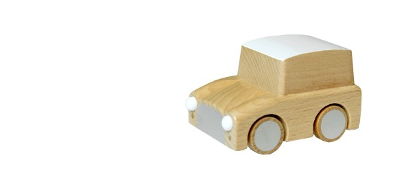 Kuruma wooden car naturel1283-5918