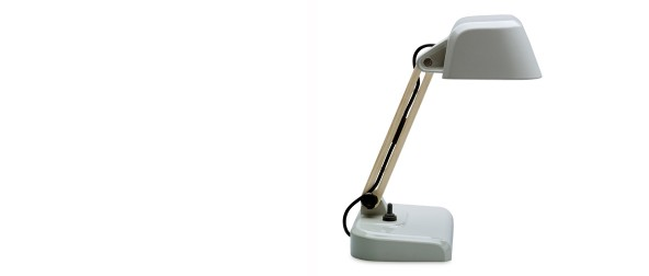 Desk lamp low grey