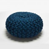 Urchin Pouf blue