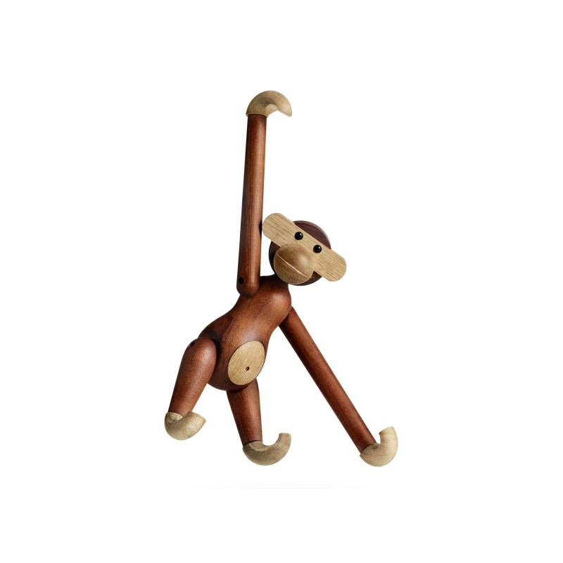 kay bojesen denmark wooden monkey medium toys. Black Bedroom Furniture Sets. Home Design Ideas