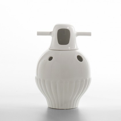 Showtime vase 3 white