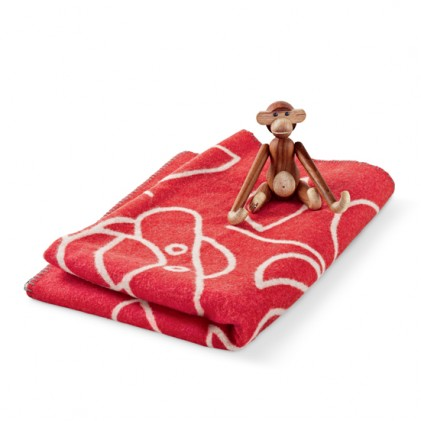 Kay Bojesen Blanket red