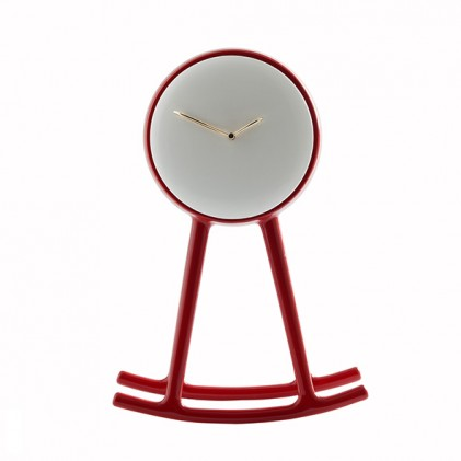 Infinity Clock Red
