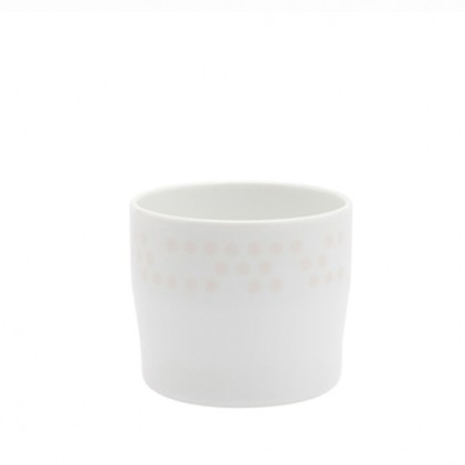 s.b. 37 espresso cup white pink dots