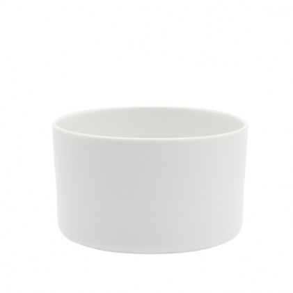 s.b. 42 tea cup white glazed