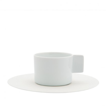 s.b. 50 cup and saucer light blue white