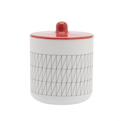 s.b. 52 container red grid