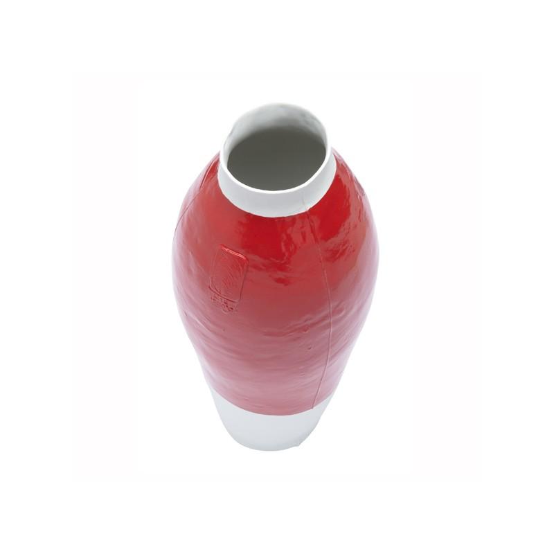 Red White Vase Hella Jongerius Tichelaar Makkum