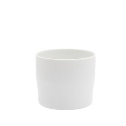 s.b. 38 espresso cup white glazed
