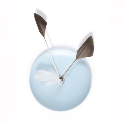 Clock Koekoek blue