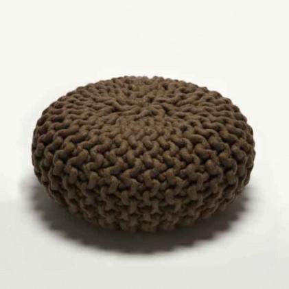 Urchin Pouf brown