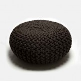 Urchin Pouf dark brown