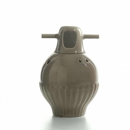 Showtime vase 3 vulcan grey